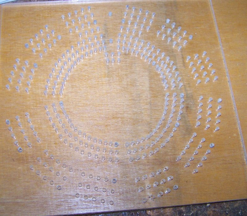 cribbage board drilling templates - custom cribbage board drilling templates semi